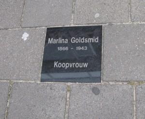 HerinneringsSteen Marlina Goldsmid