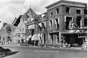 Hotel de Wereld 1945