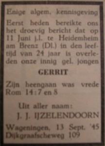 Gerrit IJzelendoorn