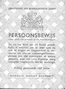 Persoonsbewijs W8