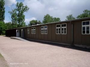 Joodse barak in Sachsenhausen