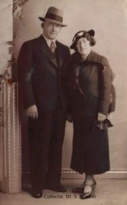 Jacobus Westland en Rachel Krasner. Foto:collectie dr. S.Krasner