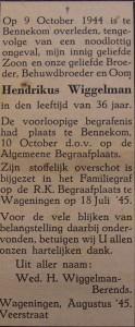 Hendrikus Wiggelman