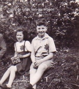 Louk en Jettie van der Woude 2 juli 1942