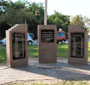 Ede monument Parkweg