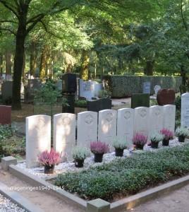 Geallieerde graven Leeuwerenk Wageningen