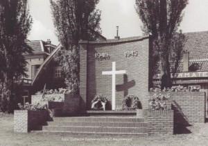 Vernieuwde monument voor de gevallenen