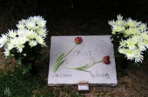 Grafsteen Johannes Post Erebegraafplaats Loenen