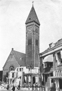 RK kerk aan de Bergstraat mei 1940