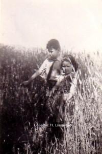 Jettie en Louk van der Woude 2 juli 1942
