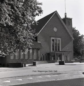 Aula universiteit Wageningen