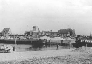 Wageningen haven evacuatie mei 1940