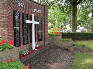 Naamwand Monument voor de Gevallenen 1940-1945