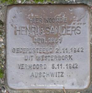 Stolpersteine in Gouda Foto: Collectie G.J.Jansen