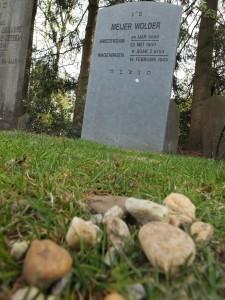Grafsteen Meijer Wolder Foto: collectie Marijke van der Giessen